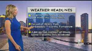 WBZ Midday Forecast For June 24 [Video]