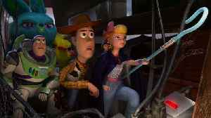 'Toy Story 4' Buzzes to Top of Domestic Box Office With $118M   THR News [Video]
