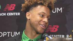 Romeo Langford Excited To Be Member Of Boston Celtics [Video]
