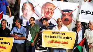 Palestinian's denounce US's peace plan before Manama event