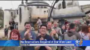 No More Reservations Required To Get Into Disneyland's Galaxy's Edge [Video]