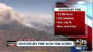 What we know: Woodbury Fire, Badger Springs Fire, Slate Fire [Video]