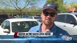 Water to be added in the Santa Cruz River by Downtown [Video]