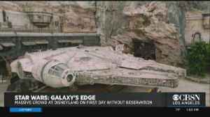 Star Wars Land Is Now Open To All [Video]