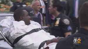 Staten Island Man Charged With Murder Taken On Stretcher From Court [Video]