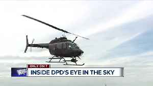 Detroit Police Department's aerial support unit fights crime from high in the sky [Video]