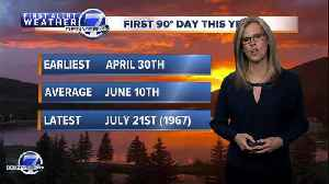 It's been one of the coolest start to summer in Colorado in decades [Video]