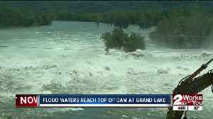 Pensacola Dam roars as Grand Lake reaches near max flood capacity [Video]