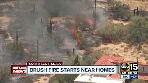 15-acre brush fire in Scottsdale is 100% contained [Video]