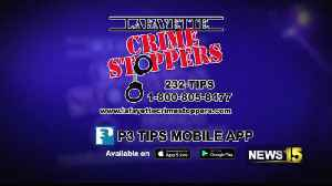 lafayette crime stoppers [Video]
