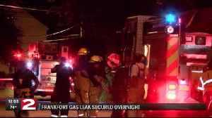 Frankfort residents back in their homes after natural gas leak [Video]