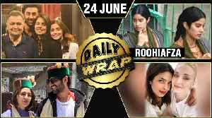 Ranbir Alia In New York, Janhvi's RoohiAfza First Look, Sara Kartik New Picture | Top 10 News [Video]