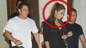 Salman Khan Iulia Vantur At Arbaaz Khan's GRAND House Party [Video]