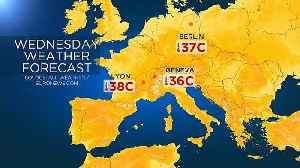 Temperatures expected to break all-time highs for June in coming days across Europe [Video]
