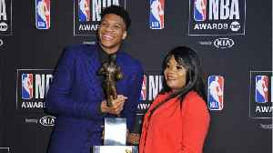 Giannis Antetokounmpo Named NBA MVP [Video]