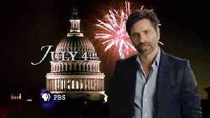 John Stamos hosts PBS' A Capitol Fourth [Video]