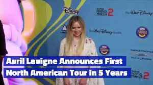 Avril Lavigne Announces First North American Tour in 5 Years [Video]