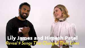 From John Mayer to Radiohead, Yesterday Stars Lily James and Himesh Patel Share 9 Songs That Changed Their Lives [Video]