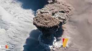 This Incredible Photo Of Volcanic Eruption Was Captured From International Space Station [Video]