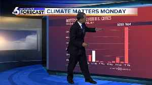 Climate Matters Monday - Record Heat by Decade [Video]