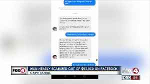 Facebook user nearly scammed out of $100K [Video]