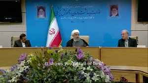 White House actions 'mentally retarded': Rouhani [Video]