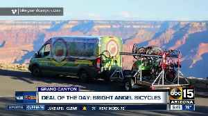 Score 50% off half-day rentals from Bright Angel Bicycles at the Grand Canyon! [Video]