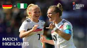 Germany v Nigeria - FIFA Women's World Cup, Round 16,  France 2019™ [Video]