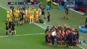 News video: Norway v Australia - FIFA Women's World Cup, Round 16, France 2019™