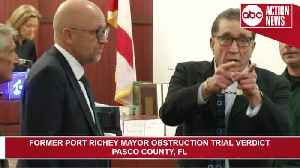 Ex-mayor Dale Massad convicted of obstructing justice [Video]