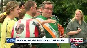 South Omaha Irish Mural Unveiling [Video]