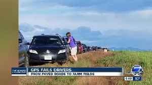 From detour to disaster: Google Maps got dozens of Colorado drivers in a mud mess on Sunday [Video]