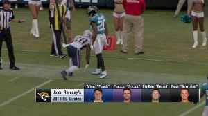 NFL Network's David Carr on Jacksonville Jaguars cornerback Jalen Ramsey's 2018 quarterback criticisms: He'll be 'a little bit m [Video]