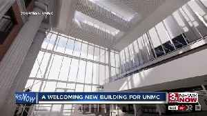 A welcoming new building for UNMC [Video]