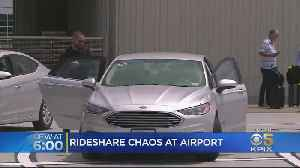Pick-Up Problems Persist For SFO Passengers Using Uber and Lyft [Video]
