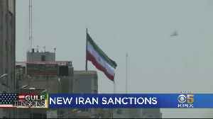 Trump Signs Executive Order Imposing New Sanctions Against Iran [Video]
