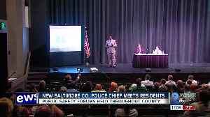New Baltimore County Police Chief meets with residents [Video]