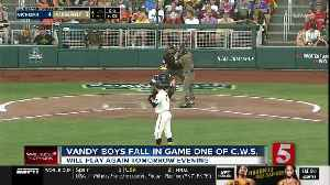 Fast Start, Henry Propel Michigan Past Vandy 7-4 In Game 1 [Video]