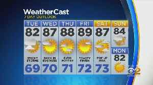New York Weather: CBS2 6/24 Nightly Forecast at 11PM [Video]