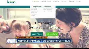 Medicaid expansion discussions continue [Video]