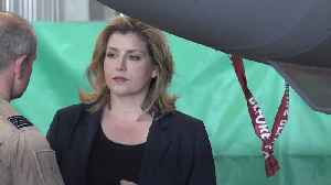 Penny Mordaunt backs Jeremy Hunt for leader after defence spending pledge