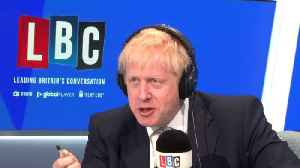 Boris Johnson Refuses Again And Again To Answer Question About Picture [Video]