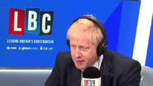 Boris Johnson Blames Garden Bridge Cancellation On Sadiq Khan [Video]