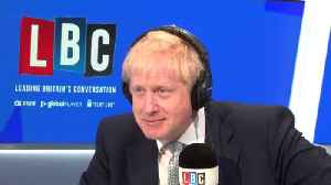 Boris Johnson Quizzed On Calling PM Gordon Brown