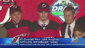 New Jersey Devils To Introduce No. 1 Pick [Video]