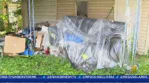 Delivery Crew Dumps Woman's New Sofa On Her Lawn After They Can't Get It Through Her Door [Video]