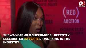 News video: Naomi Campbell to be honoured as 'Icon' at 2019 British Fashion Award