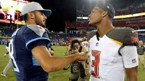 Tampa Bay Buccaneers quarterback Jameis Winston vs. Tennessee Titans QB Marcus Mariota: Who is in a better position to succeed i [Video]