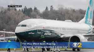737 Max Pilot Sues Boeing For Career Damage, 'Severe Emotional And Mental Stress' [Video]
