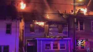 Fire Tears Through Homes In Paterson, New Jersey [Video]